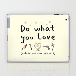 Motivational Poster Laptop & iPad Skin