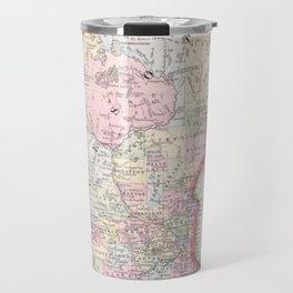 Vintage Map of Minnesota (1864) Travel Mug