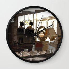 We Suit You Wall Clock