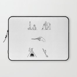 Witch Halloween Themed Design Laptop Sleeve