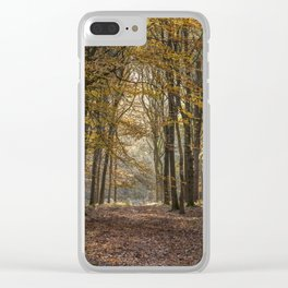 Towards the Light Clear iPhone Case