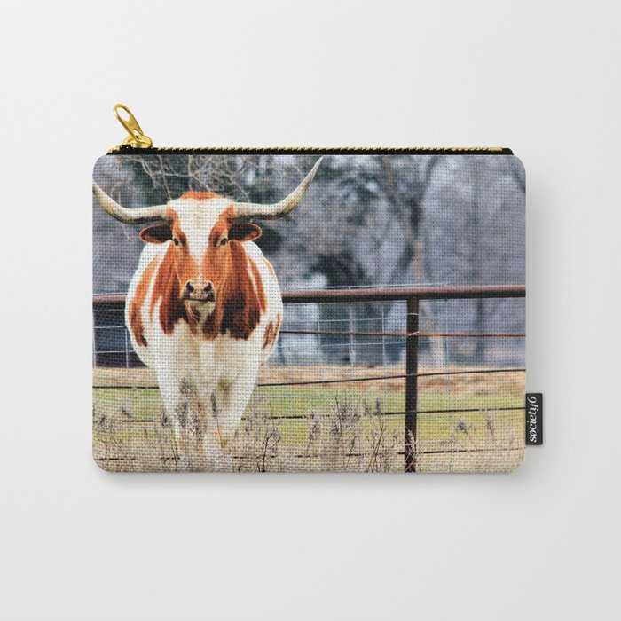 Texas Longhorn Morning Carry-All Pouch