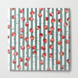 berry flower Metal Print