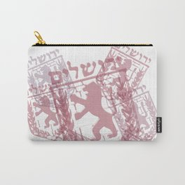 Jerusalem Lion Carry-All Pouch