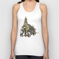 turtle Tank Tops featuring Turtle by Roald