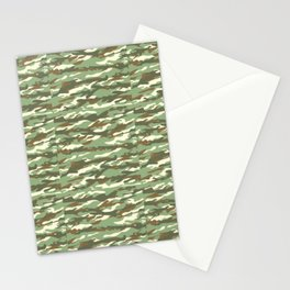 Camouflage Pattern | Camo Stealth Hide Military Stationery Cards