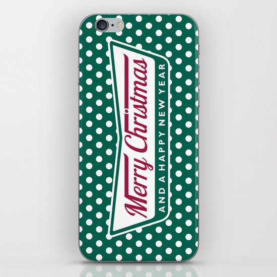 Have A Merry Krispy Christmas iPhone & iPod Skin