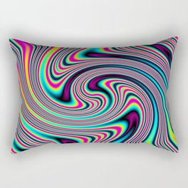Colorful stripes Rectangular Pillow