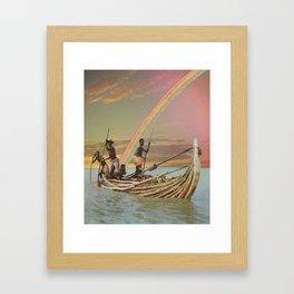 Children, Don't Get Weary Framed Art Print