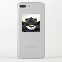 Brandenburg Gate, Berlin Germany / Glass Ball Photography Clear iPhone Case