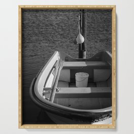 The Boat - BW Serving Tray
