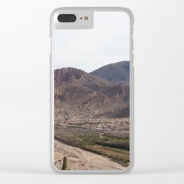 Mountains in Salta, Argentina Clear iPhone Case