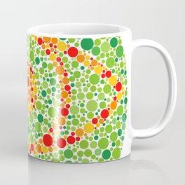 Colour Blindness Eye Coffee Mug