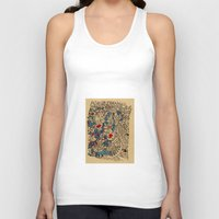 medieval Tank Tops featuring - medieval - by Magdalla Del Fresto