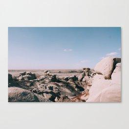 Bisti De-Na-Zin Wilderness New Mexico Landscape I Canvas Print
