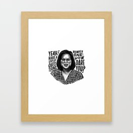 Kelly | Office Framed Art Print