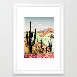 Peninsula Range Framed Art Print