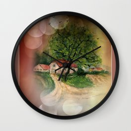 framed pictures -51- Wall Clock