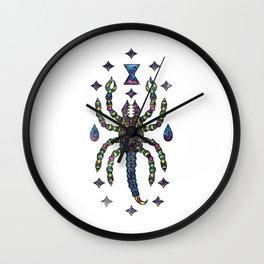 Awesome Trippy & Creepy Scorpion Wall Clock