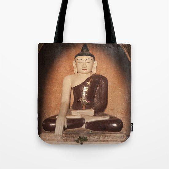 Buddha in Bagan Tote Bag
