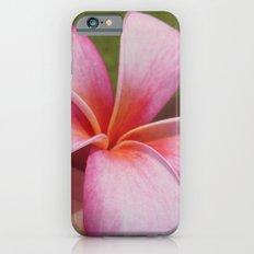 Plumarias in Hawaii iPhone 6s Slim Case