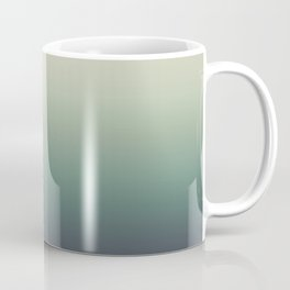 color gradient   blue ,green, grey - autumn colors Coffee Mug