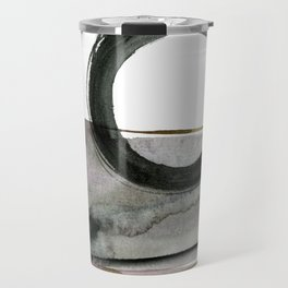 Enso Abstraction No. 112 by Kathy morton Stanion Travel Mug
