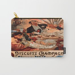 Vintage poster - Biscuits Champagne Carry-All Pouch