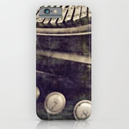 creation of a word iPhone Case