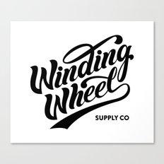 Winding Wheel Canvas Print