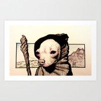 It's Gandog - Aye Chihuahua! Art Print