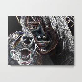 Coping With Fred Metal Print