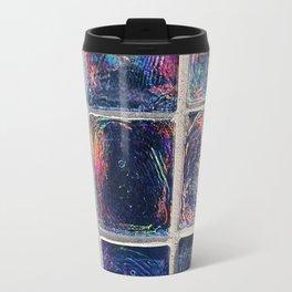 Iridescent Squares Travel Mug