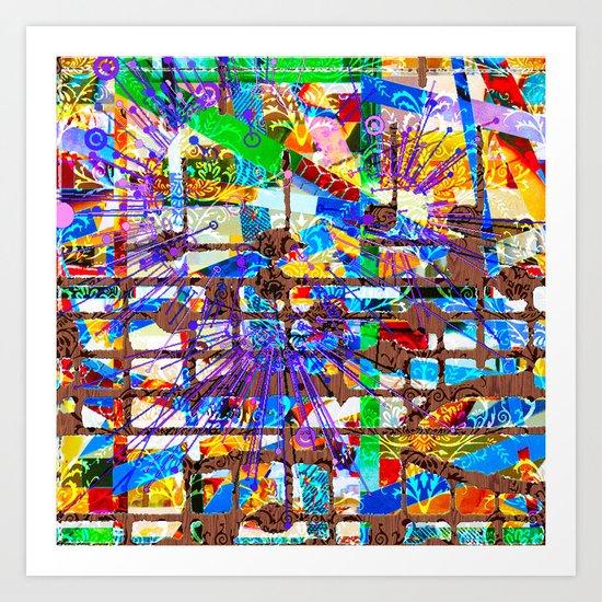 Frank (Goldberg Variations #10) Art Print