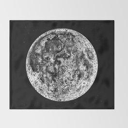 Moon 2 Throw Blanket