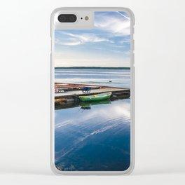 Amazing baltic sea in Haapslau city, Estonia Clear iPhone Case