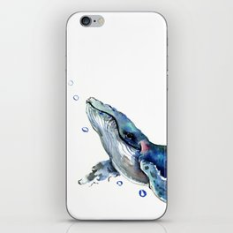 Whale Artowrk, Humpback Whale iPhone Skin