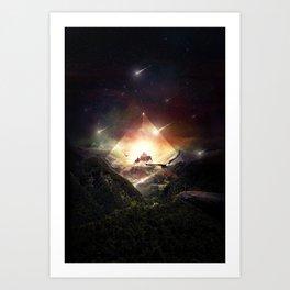 The Glass Mountain Art Print