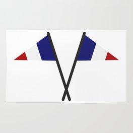 flag of france Rug