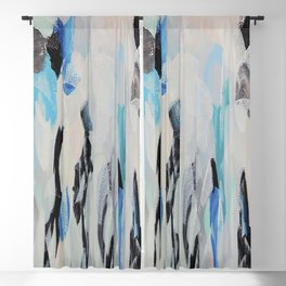 Abstract painting 131 Blackout Curtain