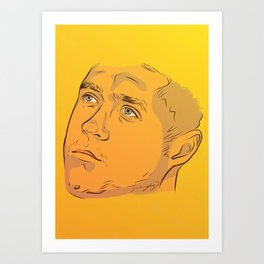 Digital Niall Art Print