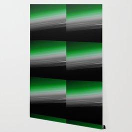 Green Gray Black Ombre Wallpaper