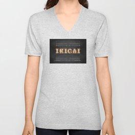 IKIGAI  -  Bulb Unisex V-Neck