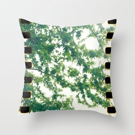 Wannabe Leaves Throw Pillow