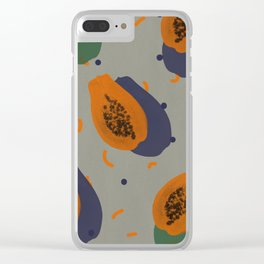 Papaya Clear iPhone Case