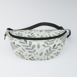 Winter Leaves Fanny Pack