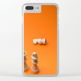 Chess7 Clear iPhone Case