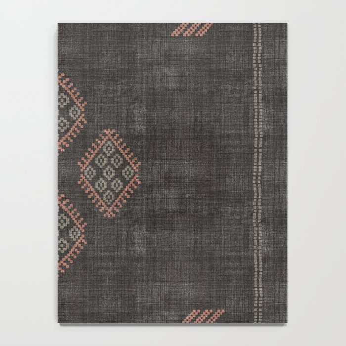 Kilim in Black and Pink Notebook