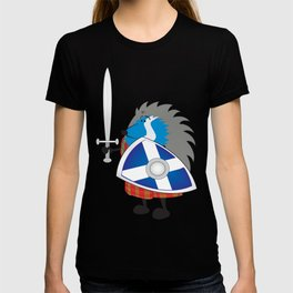 Little brave scottish hedgehog T-shirt