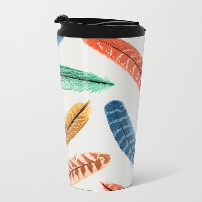 Bird is the Word Metal Travel Mug